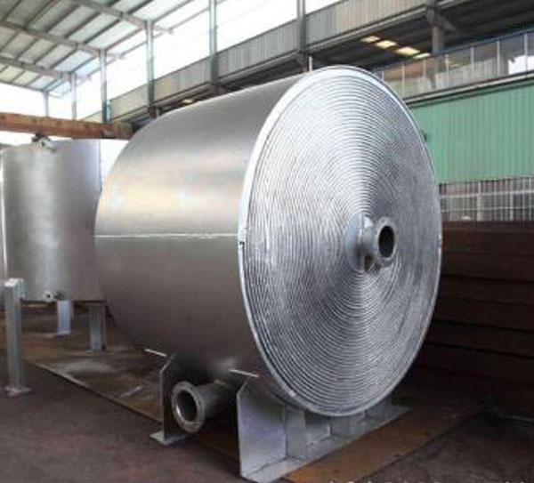 钛材螺旋板换热器