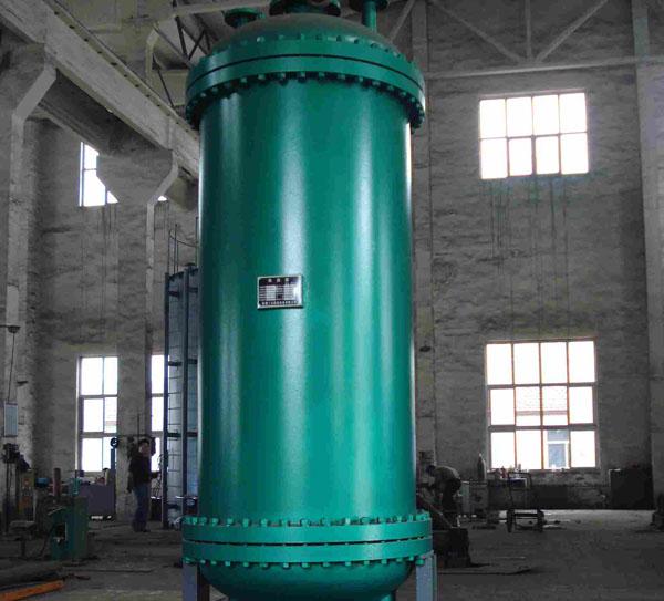 旋流浮动盘管换热器