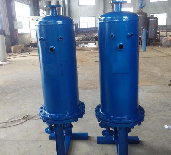 浮动盘管水水热交换器