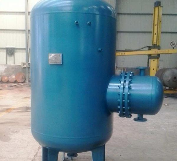 逆式湍流贮存式换热器
